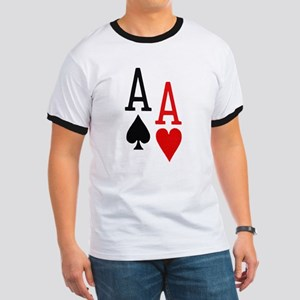 Pocket Aces Poker Ringer T