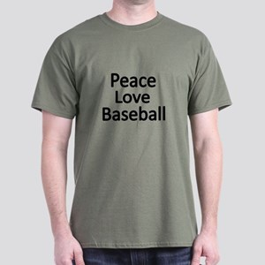 Peace,Love,Baseball T-Shirt