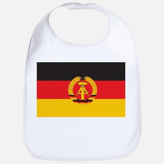 East Germany Flag Bib