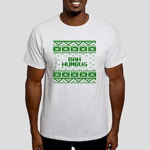 Bah Humbug Ugly Christmas Sweater Light T-Shirt