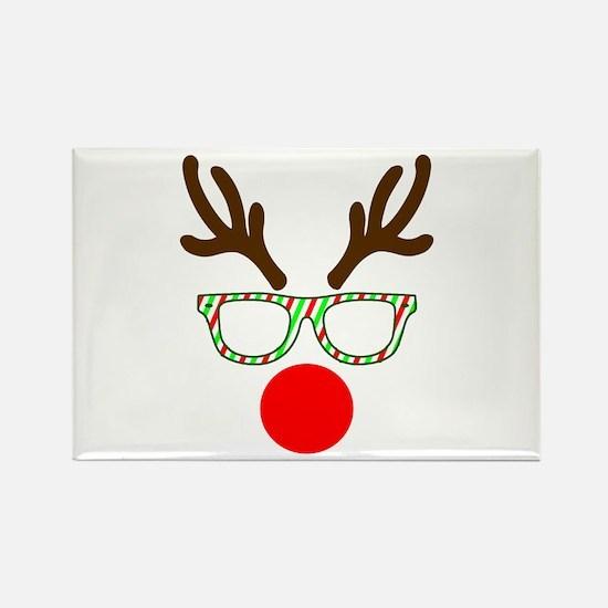 Hipster Reindeer Magnets