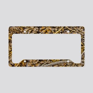 Pine Cone Carpet - The Yosemi License Plate Holder