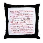 Catullus Throw Pillow