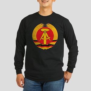 East Germany Long Sleeve Dark T-Shirt