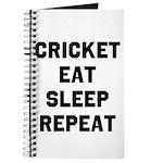 Cricket Eat Sleep Repeat Journal
