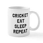Cricket Eat Sleep Repeat Mugs