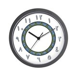 Arabic numerals Wall Clocks