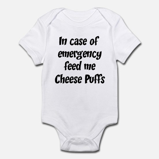 Feed me Cheese Puffs Infant Bodysuit