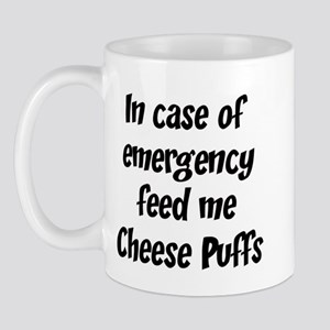 Feed me Cheese Puffs Mug