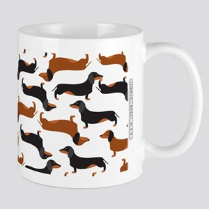 Dachshund White Mugs
