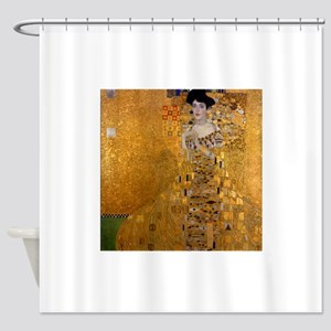 Portrait of Adele Bloch Bauer I Shower Curtain