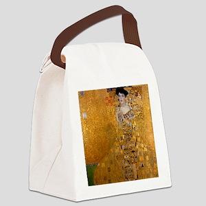Portrait of Adele Bloch Bauer I Canvas Lunch Bag