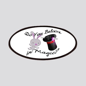 Do You Believe In Magic Top Hat & Rabbit Patches