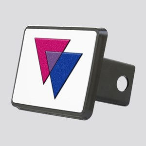Triangles Symbol - Bisexual Pride Flag Hitch Cover