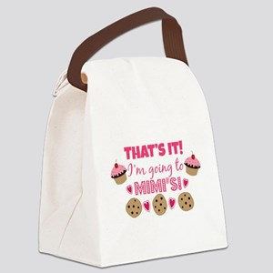 That's it! I'm going to Mimi's! Canvas Lunch Bag