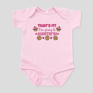That's it! I'm going to Auntie's! Infant Bodysuit