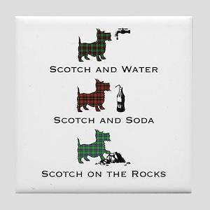 Scotch On_T Tile Coaster