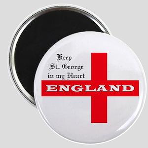 St. George's Flag Magnet