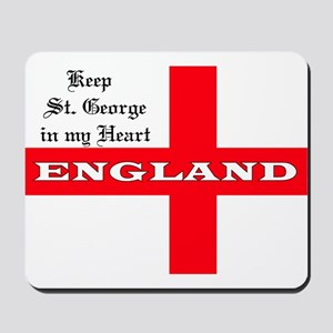 St. George's Flag Mousepad