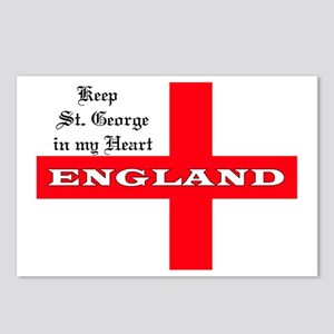 St. George's Flag Postcards (Package of 8)