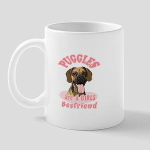 Puggles are a girls best frie Mug