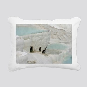 Pamukkale005 Rectangular Canvas Pillow