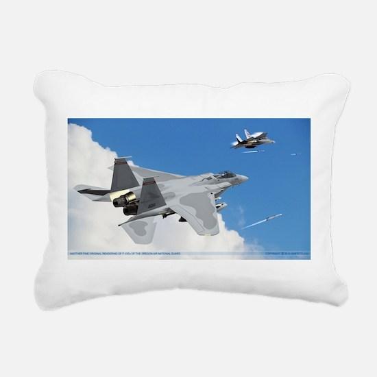 F-15Cs of the 123rd Fighting Redhawks Rectangular