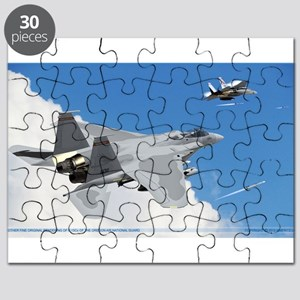 F-15Cs of the 123rd Fighting Redhawks Puzzle