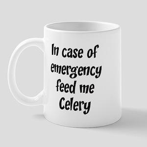 Feed me Celery Mug