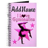 Girls gymnastics Journals & Spiral Notebooks