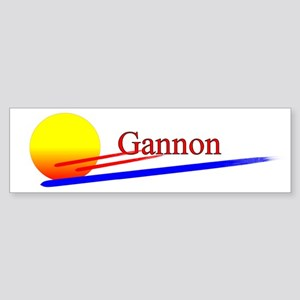 Gannon Bumper Sticker