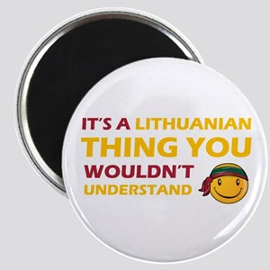 Lithuanian smiley designs Magnet