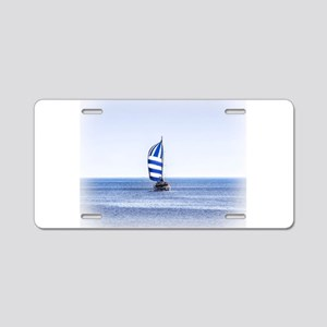 Nautical Dreams Aluminum License Plate