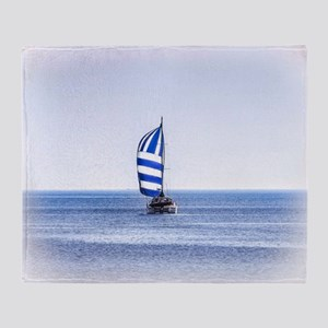 Nautical Dreams Throw Blanket