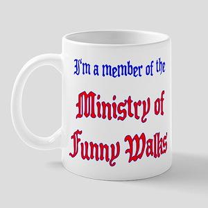 Ministry of Funny Walks Mug