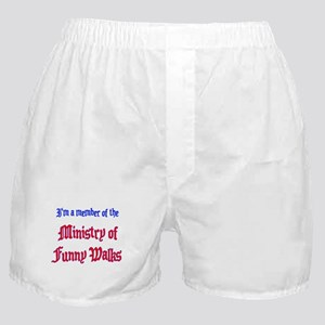 Ministry of Funny Walks Boxer Shorts