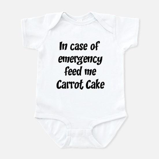 Feed me Carrot Cake Infant Bodysuit
