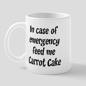 Feed me Carrot Cake Mug