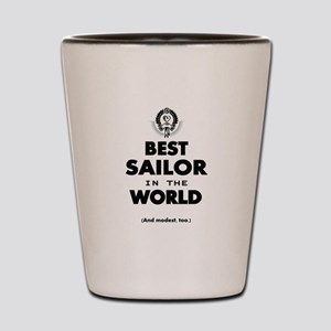 The Best in the World Best Sailor Shot Glass
