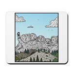 Mt Rushmore selfies Mousepad