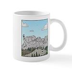 Mt Rushmore selfies Mugs