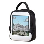 Mt Rushmore selfies Neoprene Lunch Bag