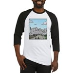 Mt Rushmore selfies Baseball Jersey