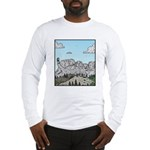 Mt Rushmore selfies Long Sleeve T-Shirt