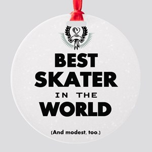 The Best in the World Best Skater Ornament