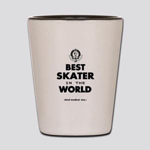 The Best in the World Best Skater Shot Glass