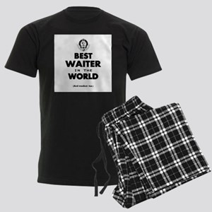 The Best in the World Best Waiter Pajamas