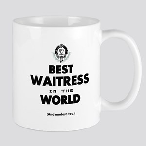 The Best in the World Best Waitress Mugs