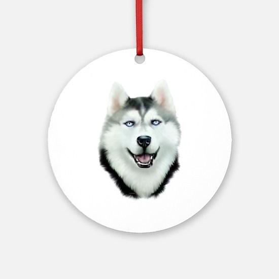 Siberian Husky Ornament (Round)