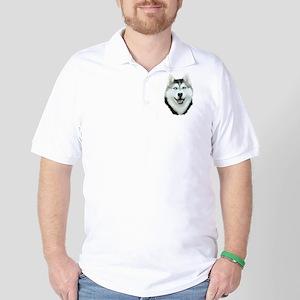 Siberian Husky Golf Shirt